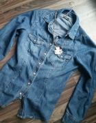 Jeansowa koszula F&F