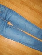 ZARA jeansowe spodnie rurki roz 36