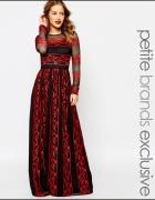 Czarna z czerwonym...