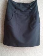 Ołówkowa spódnica wysoki stan kieszenie