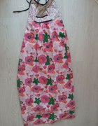 kwiecista maxi dress