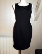 Czarna sukienka tulipan Orsay