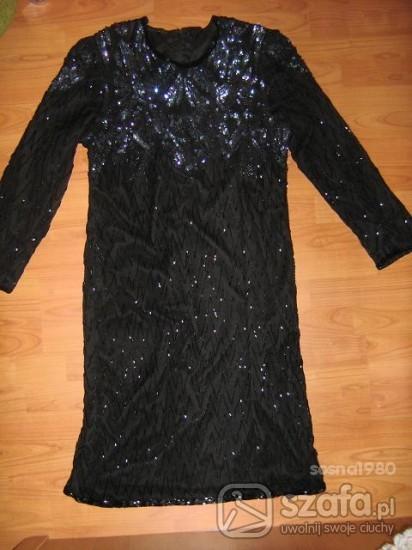 EXTRA czarna suknia