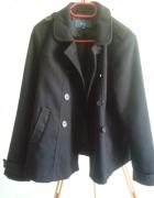 dwurzędowa czarna kurtka pagony Evie 14...