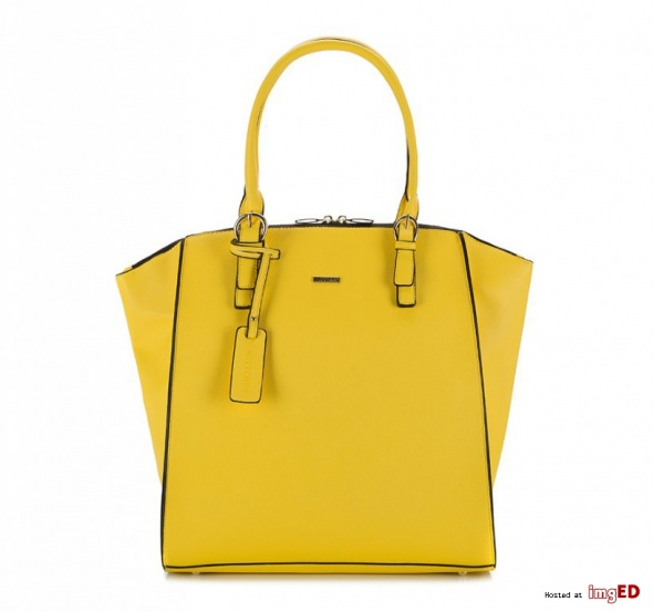 Żółta torebka Wittchen