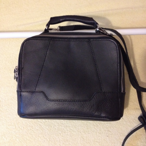 Skórzana torebka Zign listonoszka