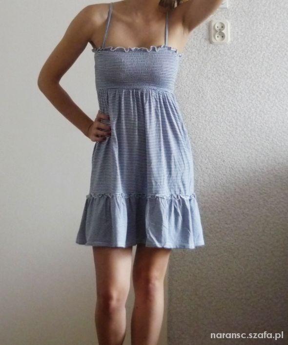 a974155d32 Sukienka na ramiączkach reserved paski na lato w Suknie i sukienki ...