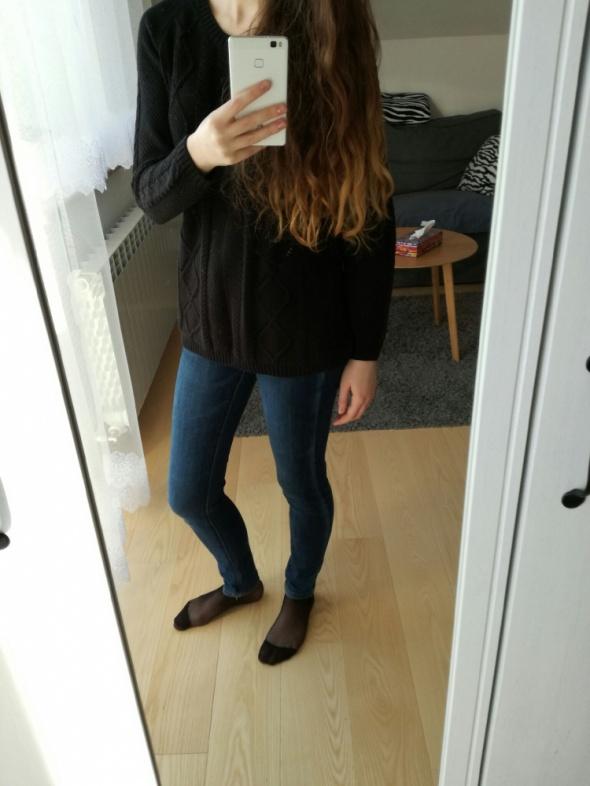 Codzienne Czarny sweter