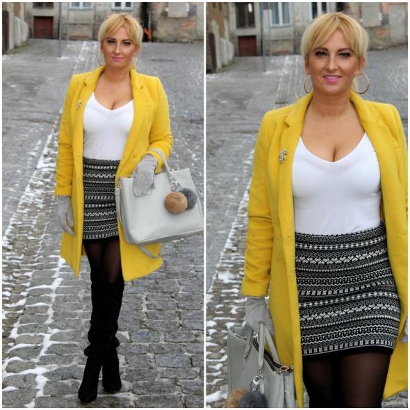 Blogerek ZImowa spódniczka