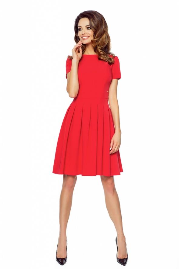 ebb3db72dc73f0 ROZKLOSZOWANA NOWOCZESNA SUKIENKA ROZMIAR 42 w Suknie i sukienki ...