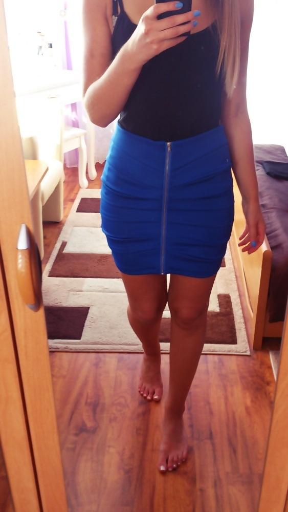 Spódnice Bandażowa z zipem S M