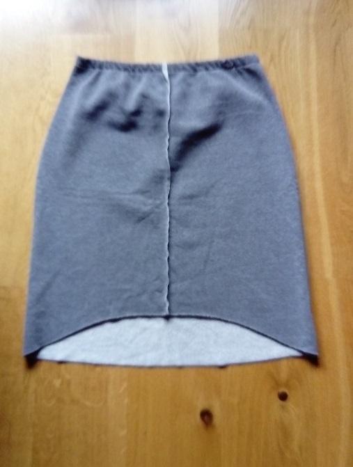 Spódnice dresowa ciepła spódnica L XL