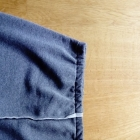dresowa ciepła spódnica L XL
