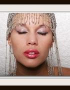 czapka z koralików ozdoba do włosów lata 20