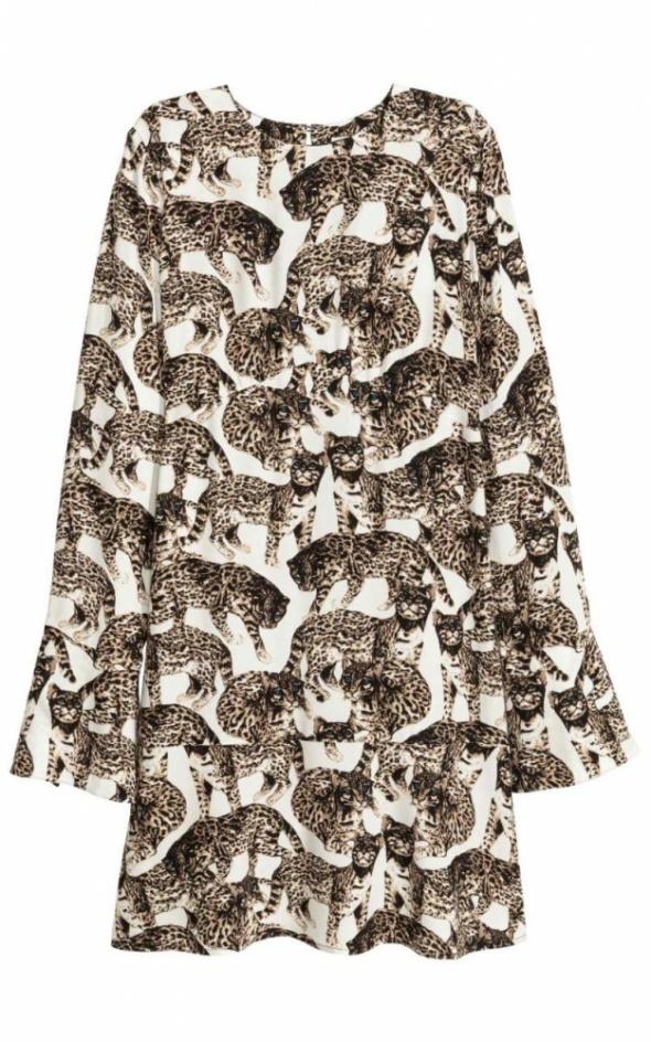 6c46bb9910 Sukienka HM tygrysy wzór print nowa kolekcja w Suknie i sukienki ...