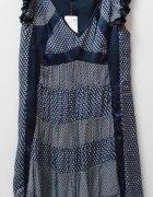 Cudowna sukienka Mango M z wzorem