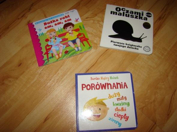 Zabawki Książeczki