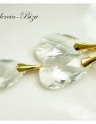 Komplet Swarovski Elements PearShaped 22mm Crystal