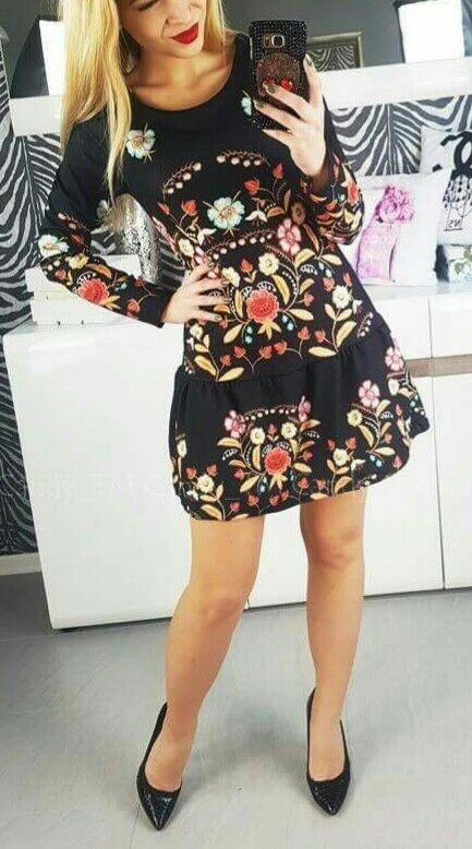 sukienka w stylu folk...