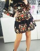 sukienka w stylu folk