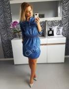 sukieneczka jeansowa...