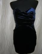 Sukienka welurowa TFNC LONDON r S NOWA z metką