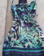 Sukienka jedwabna M