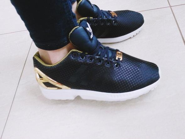 wholesale dealer 6ca02 31e9b adidas zx flux rita ora S81610 W B35319 złote w Sportowe ...