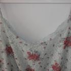 NOWA sukienka miętowa KORONKOWA w kwiaty