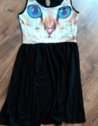 Sukienka z kotem Butik...