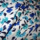 tania spódniczka floral na gumce pas 36 S kwiaty