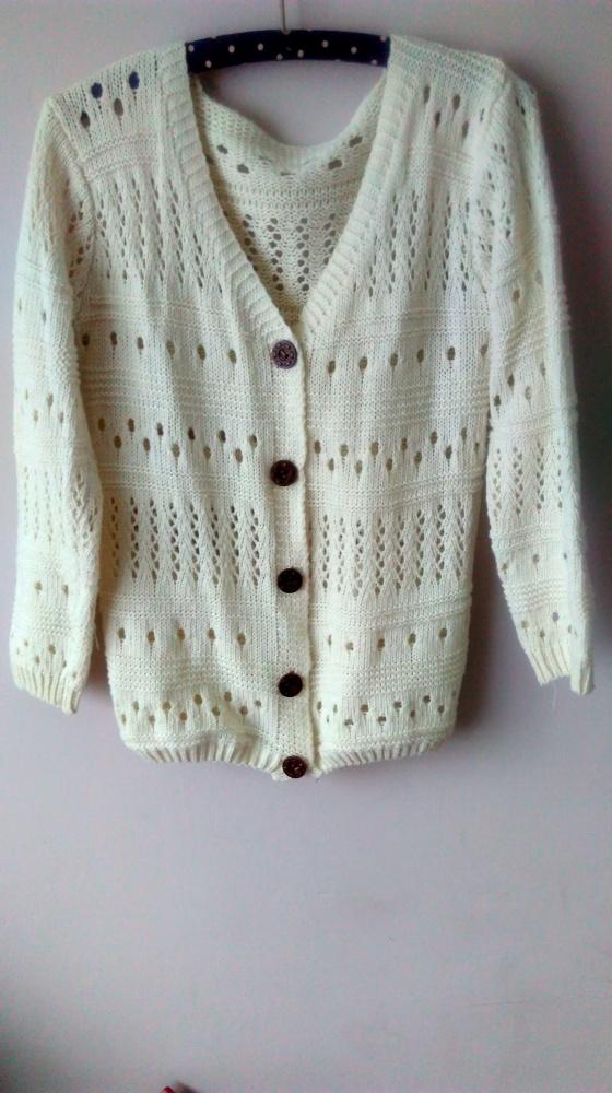 ażurowy sweter 38