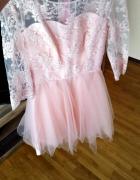 Nowa sukienka lou raz ubrana