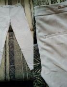 Nowe beżowe spodnie h&m