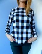 Bluzeczka koszulowa w kratkę