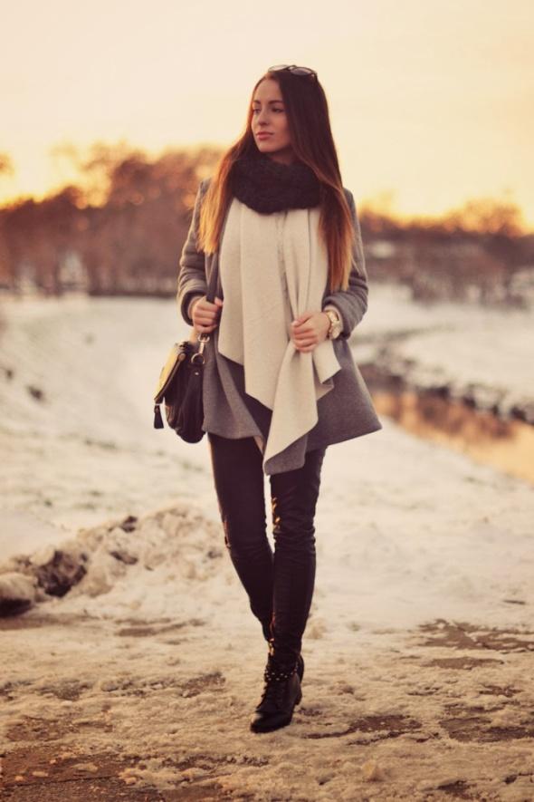 Codzienne Zimowa stylizacja