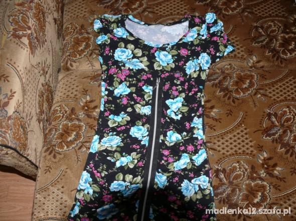 Tuniki tunika sukienka na zamek