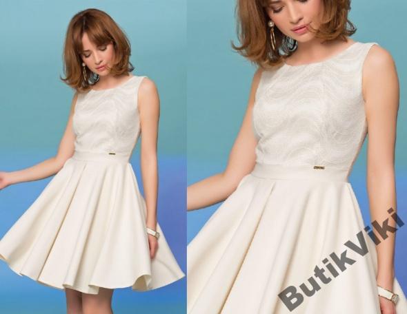 8b98788c61b935 Sukienka rozkloszowana z koła wesele 36 w Suknie i sukienki - Szafa.pl