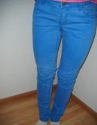 Niebieskie rurki jeansy 38 ORSAY...