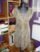 Letnia sukienka mgiełka floral 36 40