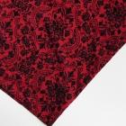 Atmosphere czerwona aksamitna spódnica wzorek