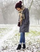 winter casual...