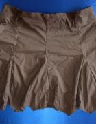 Czekoladowa brązowa spódnica