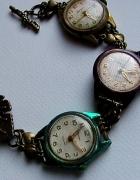 bransoletka stare zegarki radziecke steampunk...