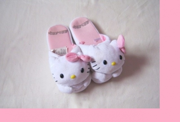 Inne Kapcie HELLO KITTY