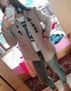 Płaszcz H&M beżowy