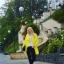 Żółty płaszcz