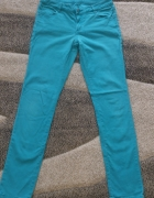 Mohito w kolorze morskim spodnie slim fit