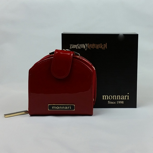 09403831623e Lakierowana portmonetka Monnari w Portfele - Szafa.pl