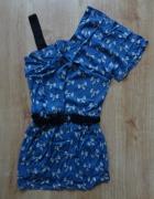 sukienka w kokardki zara S